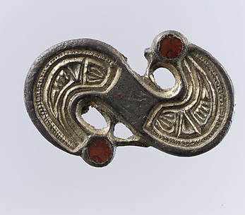 S-Shaped Brooch