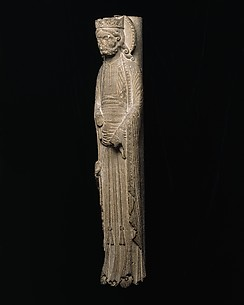 Column Statue of a King
