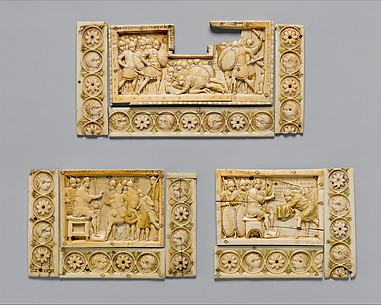 Plaques with Scenes from the Story of Joshua