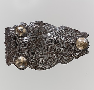 Counter Plate from a Belt Buckle