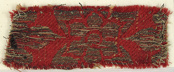 Textile with Flower Motive