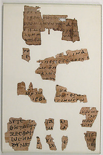 Papyrus Fragments from a Lectionary