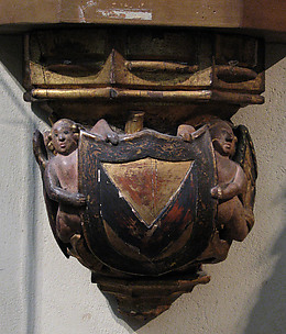 Corbel with Angels