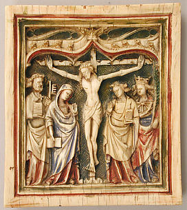 Plaque with the Crucifixion