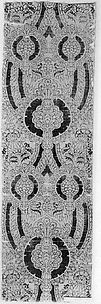 Textile with Foliated Scroll and Pomegranate Motives