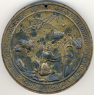 Seal Matrix, St.Francis Receiving the Stigmata