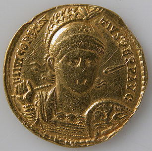 Solidus of Constantius II (Sole Emperor, 353–361)