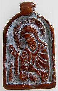 Two-Sided Pendant with the Virgin and Christ Child and John the Forerunner