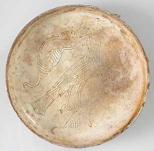 Bowl with Bird of Prey