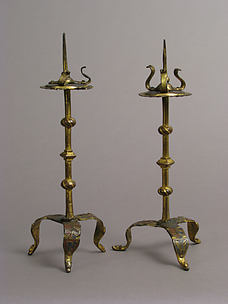 One of a Pair of Traveling Candlesticks
