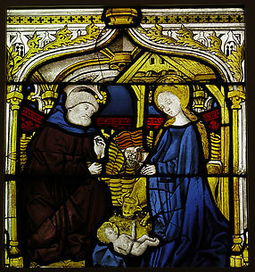 Panel with The Nativity
