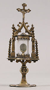 Monstrance from a Sculpture
