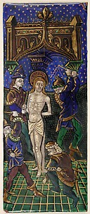 Triptych Panel with the Flagellation of Christ