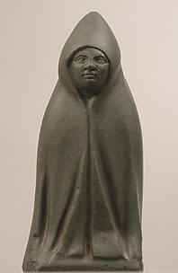 Statuette, Hooded Figure