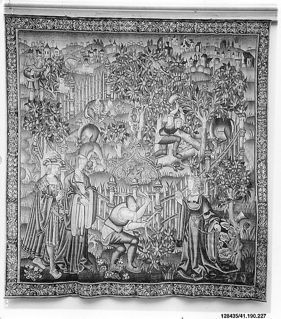 Woodcutters Working at a Deer Park (from the Hunting Parks Tapestries)