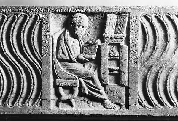 Sarcophagus with a Greek Physician