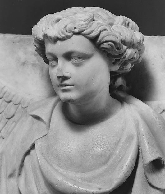 Relief with Half Figure of an Angel