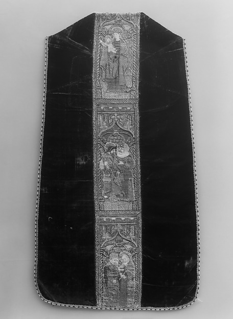 Chasuble with Virgin and Child, Apostles and Prophets