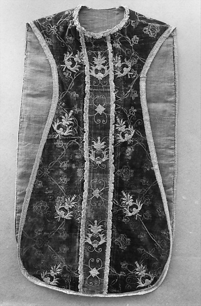 Chasuble with Pomegranate Design