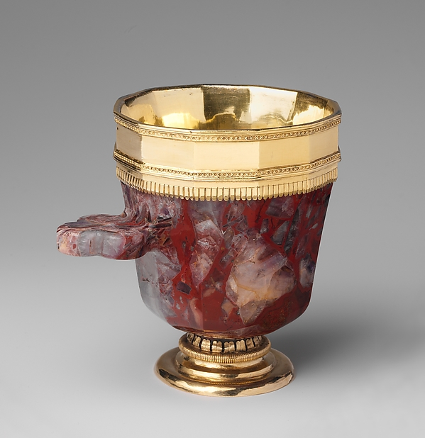 Jasper Cup with Gilded-Silver Mounts