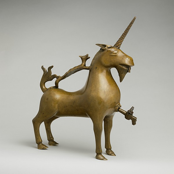 Aquamanile in the Form of a Unicorn