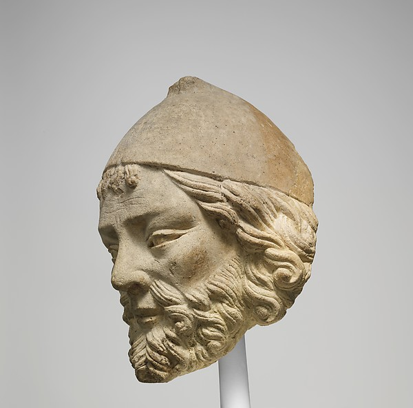 Limestone Head of Joseph