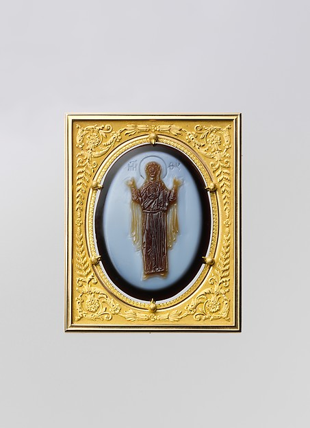 Cameo of the Virgin and Child