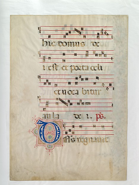 The Dedication of a Church in an Initial T
