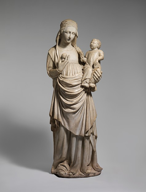 Standing Virgin and Child