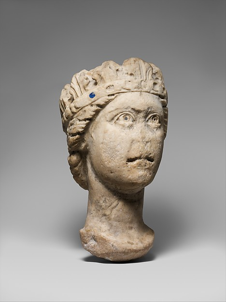 Crowned Head of a Woman
