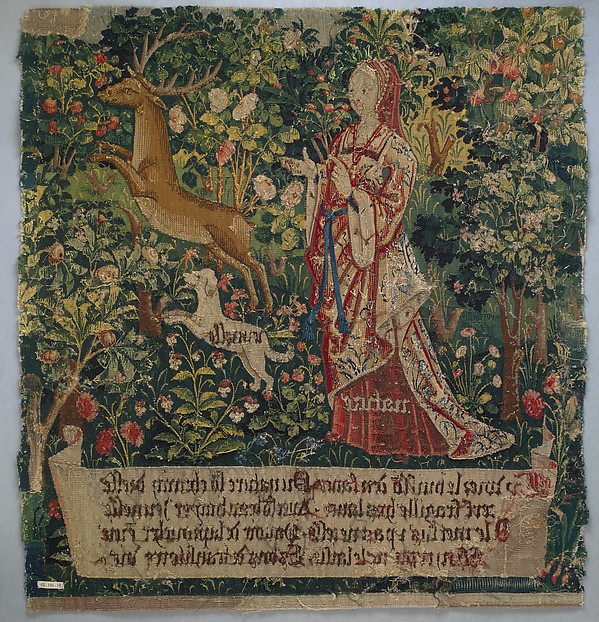 Nature Sets Her Hound Youth after the Stag (from The Hunt of the Frail Stag)