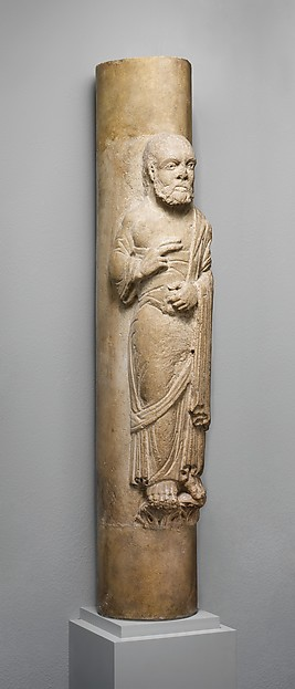 Column Statue of an Apostle