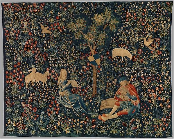 Shepherd and Shepherdess Making Music
