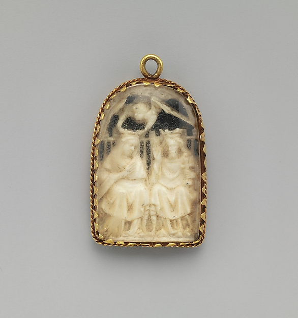 Pendant with the Coronation of the Virgin