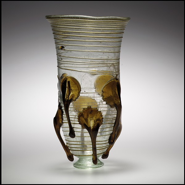 Glass Claw Beaker