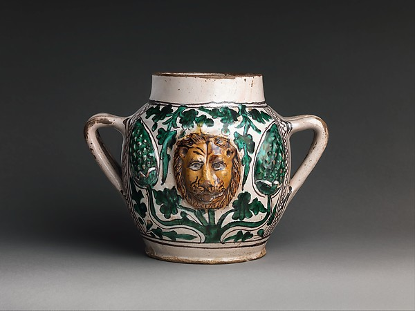 Two-Handled Jar with Lions' Heads