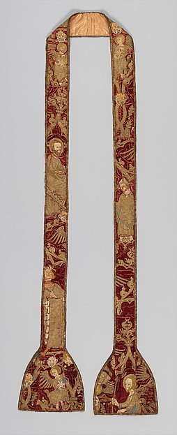 Stole with Various Saints