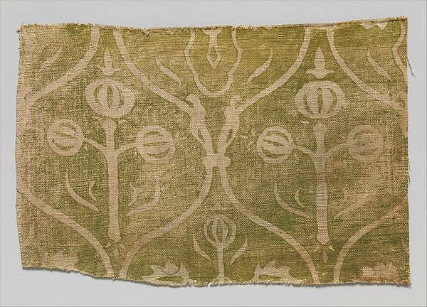 Fragment of Printed Linen