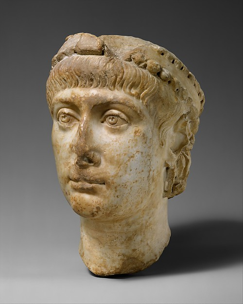Head of Emperor Constans (r. 337–50)