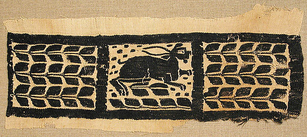 Fragment of a Band with a Hare