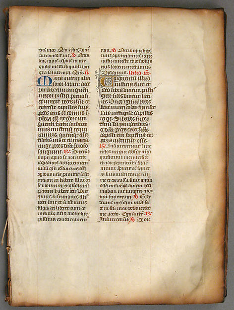 Leaves from a Missal