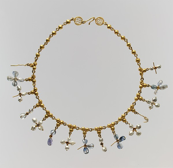 Necklace with Pendant Crosses