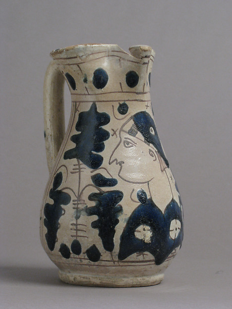 Jug with Figure in Profile