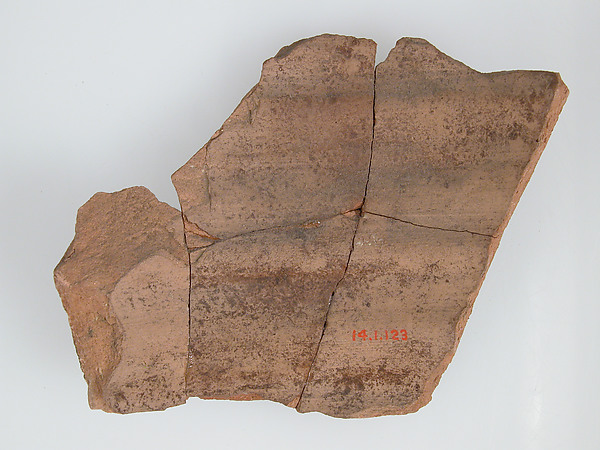 Ostrakon with a Letter from Paternoute to Epiphanius
