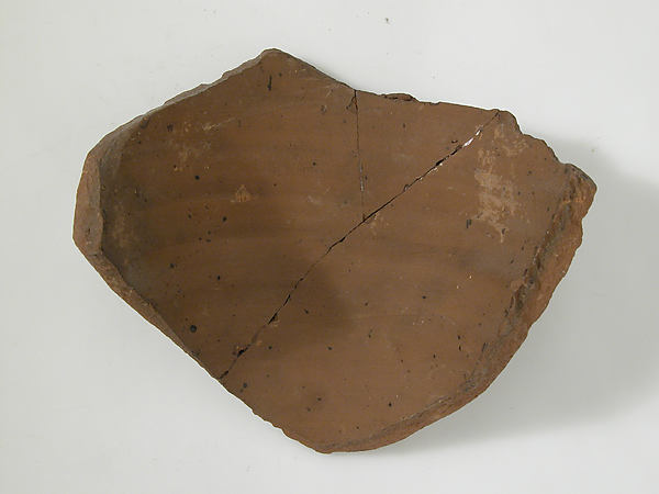Ostrakon with a Letter from Jacob to Jacob