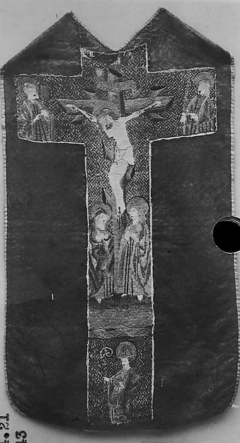 Chasuble with The Crucifixion, Holy Women and Saints