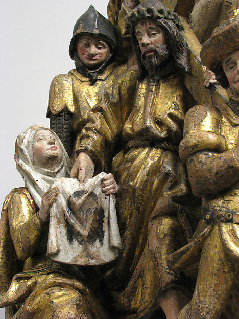 The Way to Calvary, with Saint Veronica Receiving the Veil Imprinted with the Face of Christ