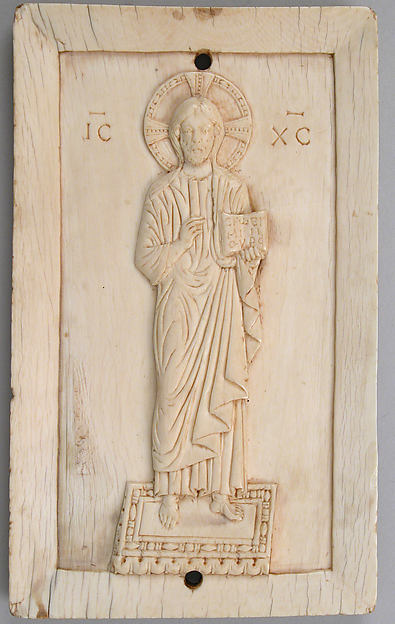 Panel with a Standing Figure of Christ