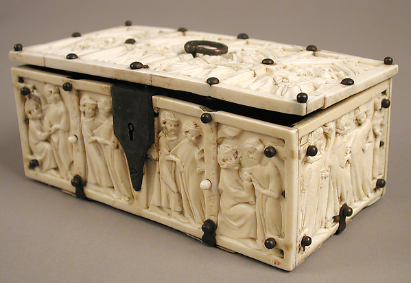 Casket with Romance Scenes