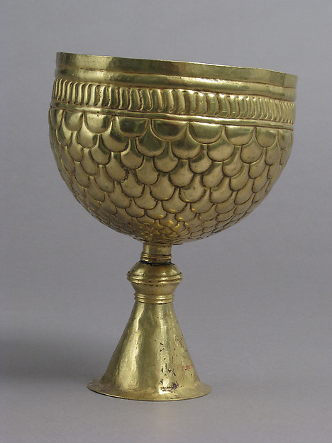 Gold Goblet and Cover (?)